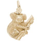 Gold Plate Koala Bear Gold Charm by Rembrandt Charms
