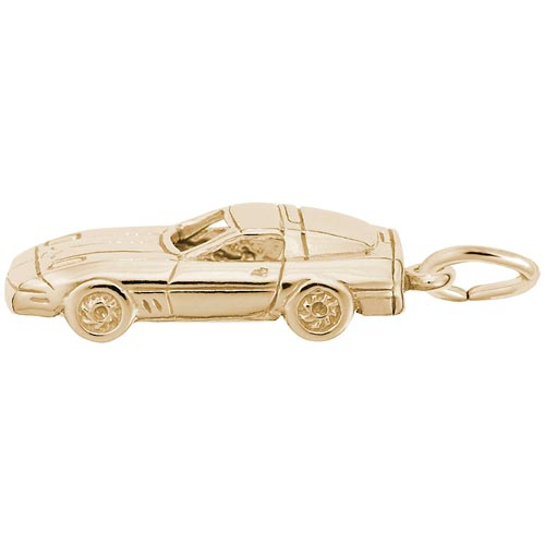 14K Gold Late Model Sports Car Charm by Rembrandt Charms