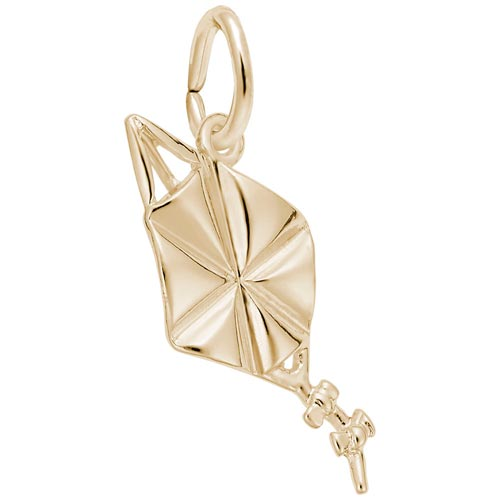 14K Gold Kite Charm by Rembrandt Charms