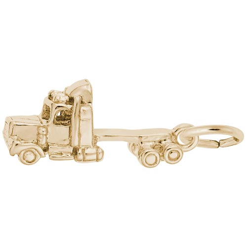 14K Gold Truck Cab Charm by Rembrandt Charms