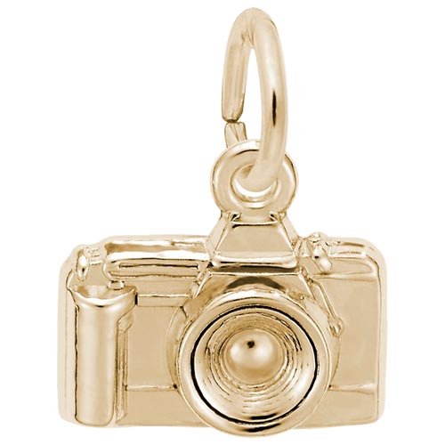 14K Gold Camera Charm by Rembrandt Charms