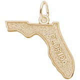 Gold Plated Florida Charm by Rembrandt Charms