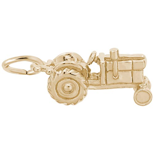 14K Gold Tractor Charm by Rembrandt Charms