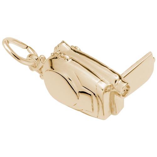 14K Gold Camcorder Charm by Rembrandt Charms