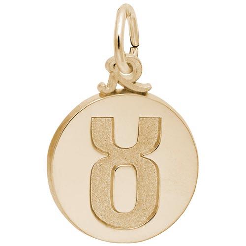 14K Gold Taurus Zodiac Charm by Rembrandt Charms