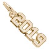 10K Gold 2019 Year Charm