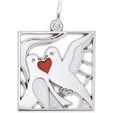 14K White Gold The 12 Days of Christmas Day 2 by Rembrandt Charms