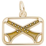 Gold Plated The 12 Days of Christmas Day 11 by Rembrandt Charms