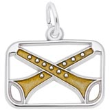 14K White Gold The 12 Days of Christmas Day 11 by Rembrandt Charms