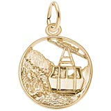 Gold Plate Banff Canada Charm by Rembrandt Charms