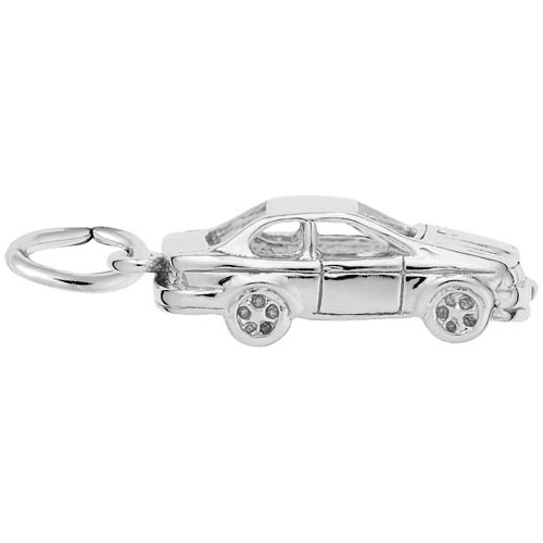 14K White Gold Car Charm by Rembrandt Charms