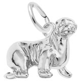 14K White Gold Sea Lion Charm by Rembrandt Charms
