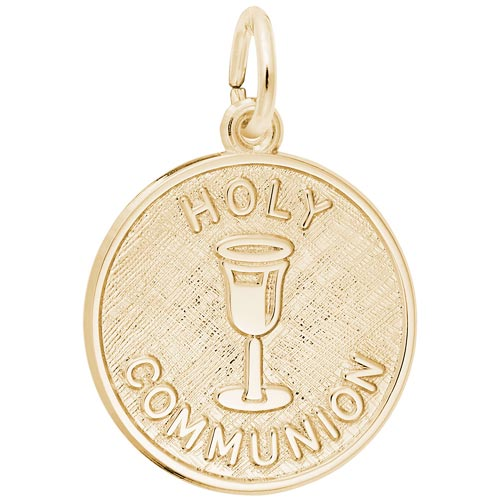 Gold Plated Holy Communion Charm by Rembrandt Charms