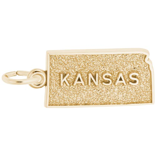 14K Gold Kansas Charms by Rembrandt Charms