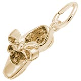 14K Gold Tap Shoe Charm by Rembrandt Charms
