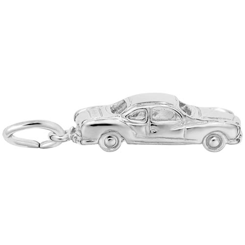 Sterling Silver Classic Business Coupe Charm by Rembrandt Charms
