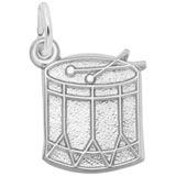 Sterling Silver Drum Charm by Rembrandt Charms