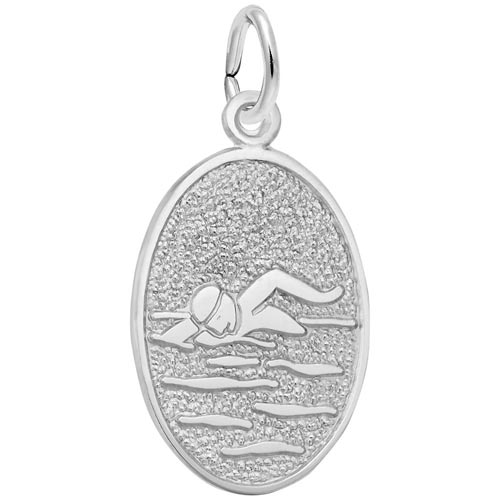 Sterling Silver Sweden Charm by Rembrandt Charms