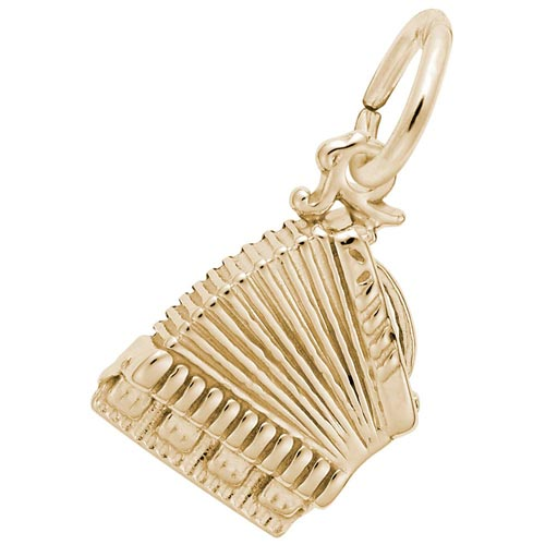 14K Gold Accordion Charm by Rembrandt Charms