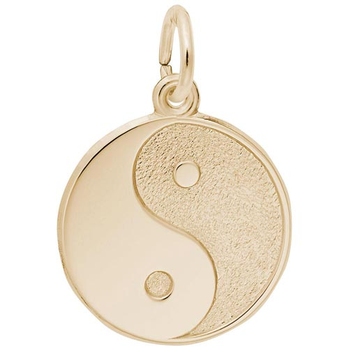 14k Gold Yin Yang Charm by Rembrandt Charms