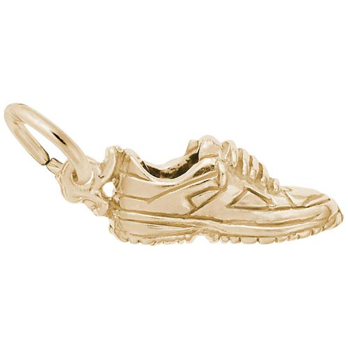 14K Gold Sneaker Charm by Rembrandt Charms