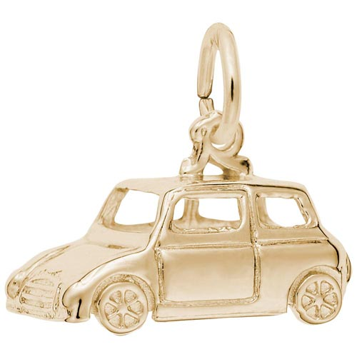 Gold Plated Classic British Car Charm by Rembrandt Charms