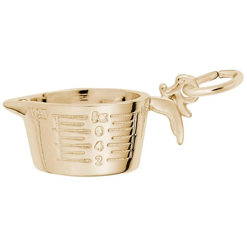 14K Gold Measuring Cup Charm by Rembrandt Charms