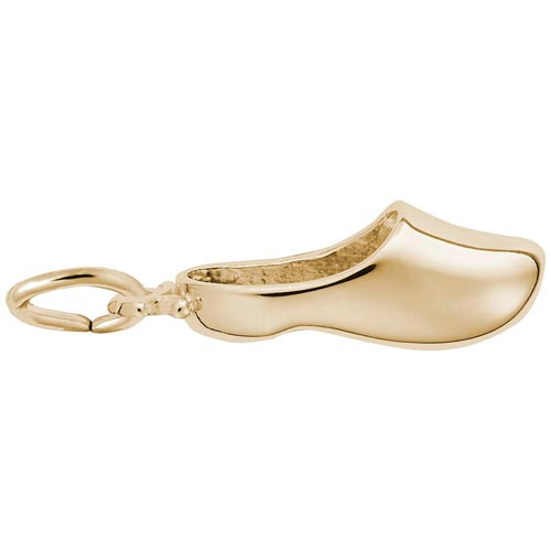 14K Gold Dutch Shoe Charm by Rembrandt Charms