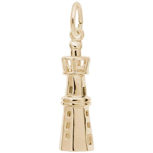 14K Gold Harbour Lighthouse Charm by Rembrandt Charms