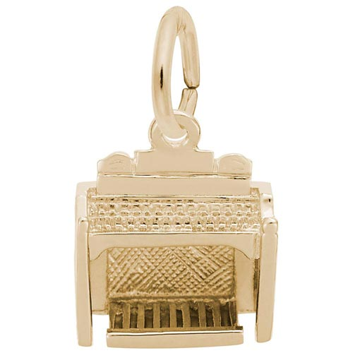 Gold Plate Organ Charm by Rembrandt Charms