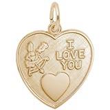 Valentine I Love You Charms