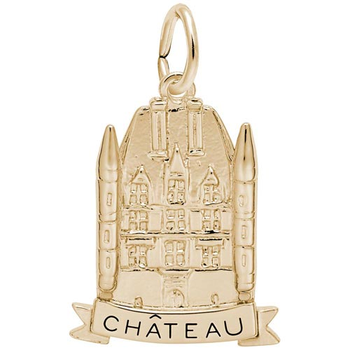 10K Gold Chateau Charm by Rembrandt Charms