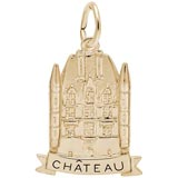 14K Gold Chateau Charm by Rembrandt Charms