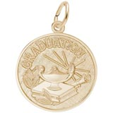 10k Gold Graduation Charm by Rembrandt Charms