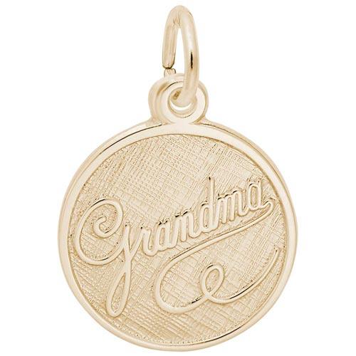 14K Gold Grandma Charm by Rembrandt Charms