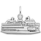 Sterling Silver Washington State Ferry Charm by Rembrandt Charms