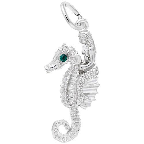 14K White Gold Under the Sea Friends Charm by Rembrandt Charms