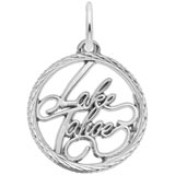 Sterling Silver Lake Tahoe Charm by Rembrandt Charms