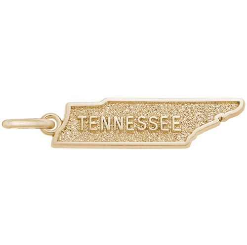 14K Gold Tennessee Charm by Rembrandt Charms