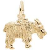 14K Gold Goat Charm by Rembrandt Charms