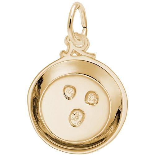 14K Gold Mining for Gold Pan Charm by Rembrandt Charms