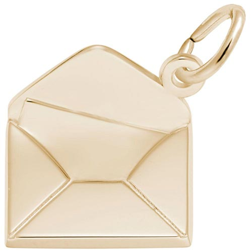 14K Gold Letter Charm by Rembrandt Charms