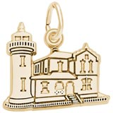 14K Gold Admiralty Head, WA Lighthouse by Rembrandt Charms