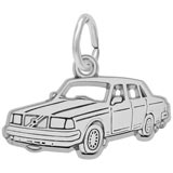 Sterling Silver Mid-Size Luxury Car Charm by Rembrandt Charms
