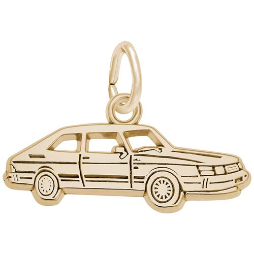10K Gold Car Charm by Rembrandt Charms