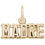 Gold Plated Madre Charm Mother by Rembrandt Charms