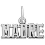 14K White Gold Madre Charm Mother by Rembrandt Charms