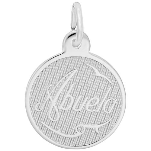 Sterling Silver Abuela Charm Grandma by Rembrandt Charms