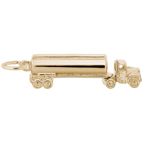 10K Gold Oil Tanker Charm by Rembrandt Charms
