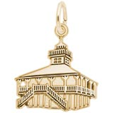 Gold Plated Old Port Boca Grande Lighthouse by Rembrandt Charms